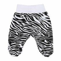 Lábfejes nadrág New Baby Zebra