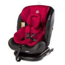 Autós gyerekülés CARETERO Mundo 2019 red
