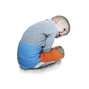 Gyermek derékszíj 5-11 éves VG antracit-málna