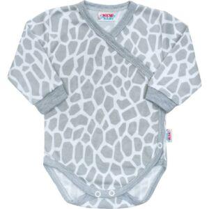 Baba teljes hosszában patentos body New Baby Zsiráf