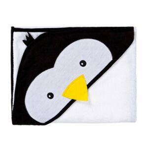 Gyermek törölköző Sensillo Water Friends 100x100cm white pingwin