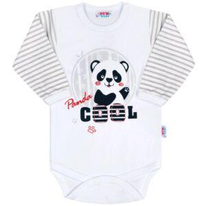 Baba hosszú ujjú body New Baby Panda