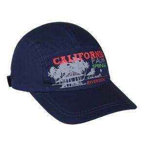 Nyári gyermek baseball sapka New Baby California sötét kék