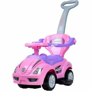 Gyermek jármű 3az1-ben Bayo Mega Car pink