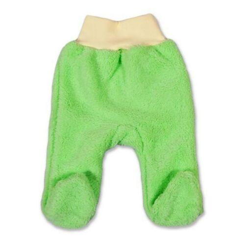 Téli lábfejes nadrág Luna zöld