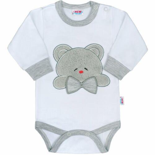 Luxus baba hosszú ujjú body New Baby Honey Bear 3D