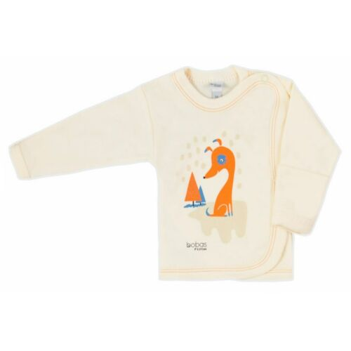 Pamut baba ingecske obas Fashion Mini Baby krémszínű