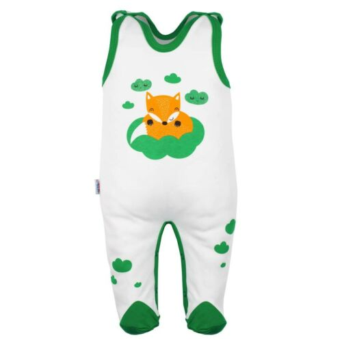 Baba rugdalózó New Baby Róka zöld