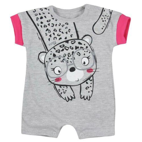 Baba nyári kézéslábas Koala Sara rózsaszín