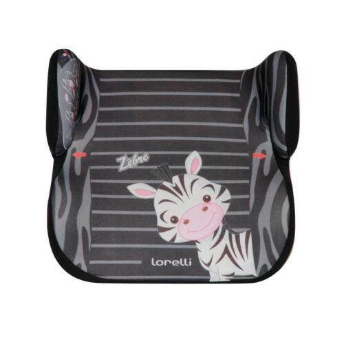 Lorelli Topo Comfort autós ülésmagasító 15-36kg - Black&White Zebra 2020
