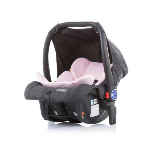 Chipolino Malta autóshordozó 0-13kg + adapter - Baby Pink 2020