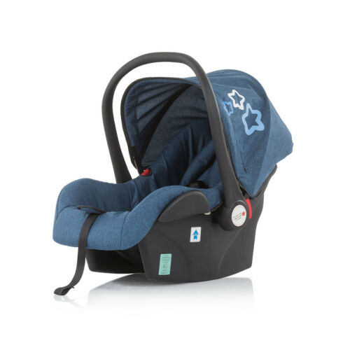 Chipolino Noma autósülés adapterrel 0-13kg - Blue Indigo 2019