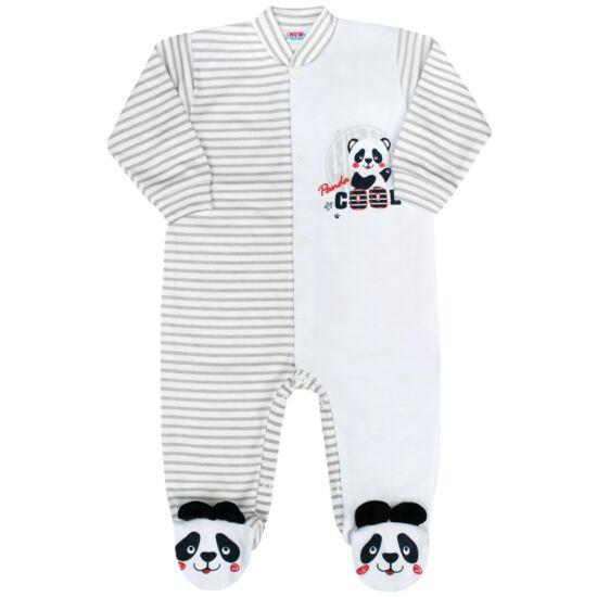 Baba kezeslábas New Baby Panda