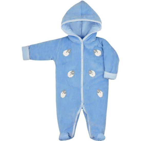 Téli baba kezeslábas Bobas Fashion Bari kék