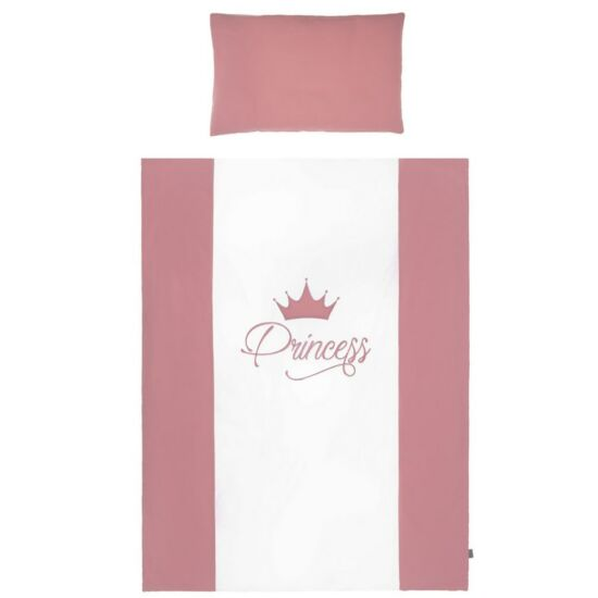 2-részes ágyneműgarnitúra Belisima Royal Baby 90/120 rózsaszín